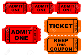 admission and raffle tickets royalty cliparts vectors and admission and raffle tickets stock vector 4869703