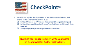 checkpoint number your paper from write your on it checkpoint number your paper from 1 7 write your on it