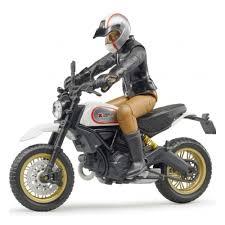 Масштабная модель <b>BRUDER</b> 63-051 <b>Мотоцикл Scrambler Ducati</b> ...