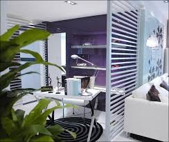 interior awesome small home office and simple living room design separate by innovative partition wall awesome divider office room