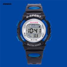 <b>2019 Hot Sale Children</b> Watch Boys Girls LED Digital Sports ...