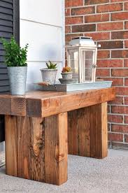 get the free plans to build this classic diy outdoor bench more amusing cool diy patio