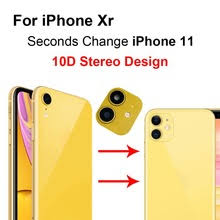For iPhone XR Second Change For iPhone 11 Phone Back <b>Camera</b> ...