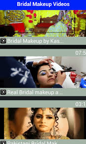 bridal makeup videos 2016 free android apps