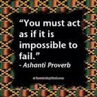 Ashanti Proverb