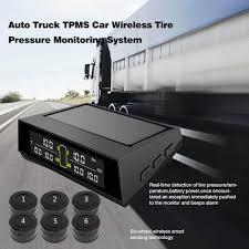 <b>TPMS</b> for Truck Bus 6PCS External <b>Sensor</b> 8.0bar <b>Solar TPMS</b> Car ...