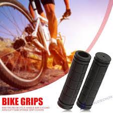 <b>1 Pair</b> Foam Sponge Handle Bar Grips Handlebar Cover <b>Bike Cycle</b> ...