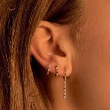 <b>CANNER</b> Retro Fashion Red Natural Stone <b>Earrings Gold</b> Silver ...