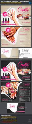nail salon flyer business card templates business card nail salon flyer business card design tempalte graphicriver