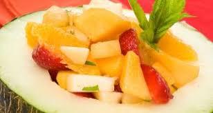 Resultado de imagen de foto de macedonia de naranjas