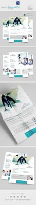 modern corporate flyer templates on behance