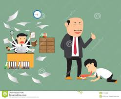 bad and good employee practice business concept stock vector bad and good employee practice business concept