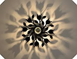 simple wall lamps creative flower personality for living room lamps staircase aisle lights acrylic lighting led application lamps staircase