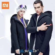 Newest Xiaomi <b>Supield</b> Aerogel Electric Heating Jacket Men Winter ...