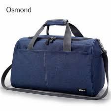 Osmond Large Capacity Travel <b>Bag Mens Oxford</b> Cloth Luggage ...