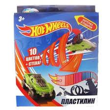 <b>Пластилин CENTRUM Hot</b> Wheels 10 цветов (88619) — купить по ...