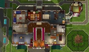 Mod The Sims   Green Hills Mansion   No CC     Click image for larger version Name  nd Level Floor Plan jpg Size