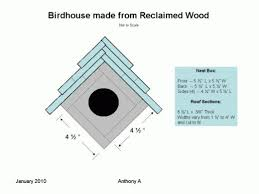 Birdhouse Ideas  Different DIY Birdhouse Plans and Nesting Box    Small Hanging Birdhouse Plans