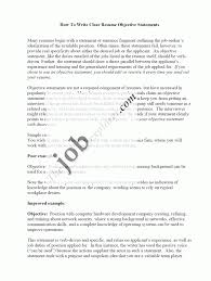 cover letter resume sample objective resume sample objectives cover letter job resume examples objective sample samplesresume sample objective large size