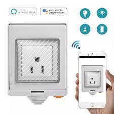 EMobile <b>SONOFF S55 IP55</b> Waterproof Wifi Smart Power Socket ...