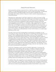 personal statement graduate school example case statement  7 personal statement graduate school example