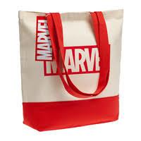 Холщовая <b>сумка Marvel</b>, красная (артикул <b>55516.50</b>) - Проект 111