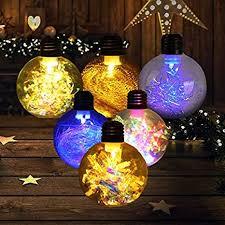 3.2 inch Christmas Ball Ornaments LED Xmas Tree ... - Amazon.com