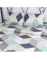 <b>Комплект постельного</b> белья Руно <b>Colored</b> Rhombuses Сатин ...