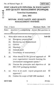 food safety and quality management systems  food safety and quality management systems 2012 agriculture food safety and quality management