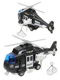 <b>Вертолет</b> POLICE HELICOPTER 1:16, со зв. и св., фрикц. <b>Drift</b> ...