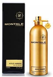 <b>Montale Aoud Ambre</b> Eau De Parfum Spray 3.4 oz Unisex | Perfume ...
