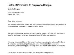 Notice of Promotion   Template   Sample Form   Biztree com