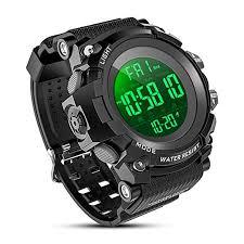 YEENIK <b>Men's</b> Digital Sport <b>Watch</b>, <b>Military Watches</b> with <b>50M</b> ...