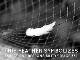 touching spirit bear symbols by shannon lundin this feather symbolizes