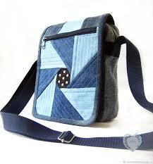 Bag tablet women's shoulder denim – заказать на Ярмарке ...