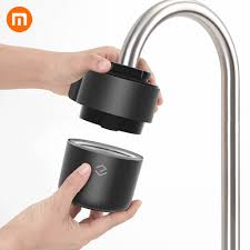 Xiaomi Yimu Black <b>Intelligent Monitoring Faucet</b> Water Purifier Filter ...