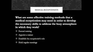 medical receptionist training video tips medical receptionist training video tips