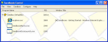 Download the latest version of Sandboxie - Sandboxie
