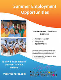 employment opportunities flyer summer employment flyer 2013 employment opportunities flyer
