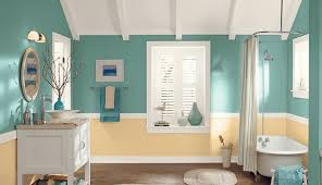green bathroom screen shot:  best bathroom paint colors you need to try