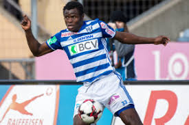 Image result for taye taiwo in fc lausanne