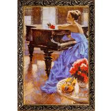 <b>Картина в раме РУССКАЯ</b> КОЛЛЕКЦИЯ Cafe Paix 60х40см 31-РР7