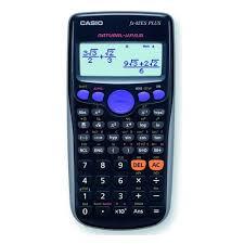 <b>Калькулятор CASIO FX-82ES PLUS</b>, 12-разрядный, черный от ...
