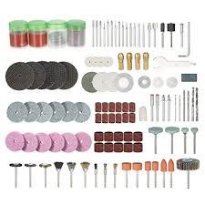 eroute66 166Pcs 1/8in Shank Rotary Polishing ... - Amazon.com