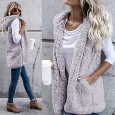Winter Fashion High quality Faux Fur Vest coat Luxury Warm ... - Vova