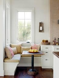 size kitchen banquette table