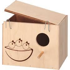 Домик-гнездо для птиц ferplast nido medium деревянный ...