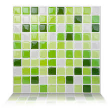 stick wall tiles quotxquot:   x peel and stick wall tile in lime green wayfair tic tac tiles quot