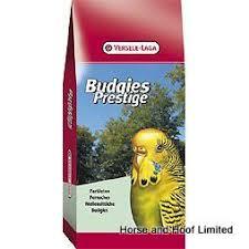 <b>Versele Laga Prestige Budgie</b> British Food Mix 50/50 20kg | Budgie ...