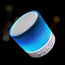 <b>LED Portable Mini</b> Bluetooth Speakers Wireless Speaker with TF ...